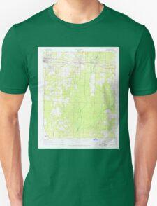 USGS TOPO Map Arkansas AR Buckner 258076 1968 24000 Unisex T-Shirt