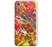 The Month Doubles Itself Twice, Watercolor by Dan Vera iPhone Case/Skin