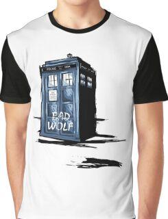 Bad Wolf Tardis Graphic T-Shirt