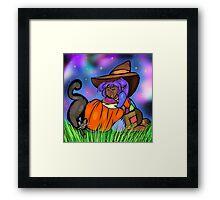Scarecrow Girl Framed Print
