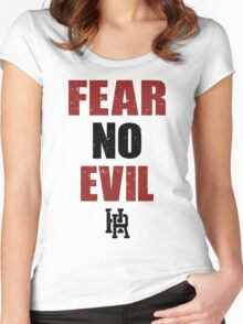 Fear no Evil  Women's Fitted Scoop T-Shirt