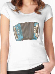 Blue Russian Bayan Women's Fitted Scoop T-Shirt