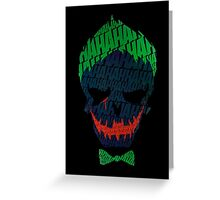 Funny Joker Greeting Card
