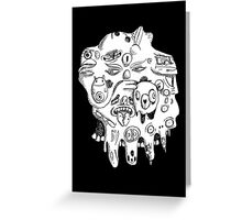 Head Two Greeting Card