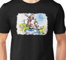 Calvin and Hobbes / Chewbacca & Han Solo Mashup Unisex T-Shirt