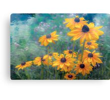 Coneflower Canticle Canvas Print