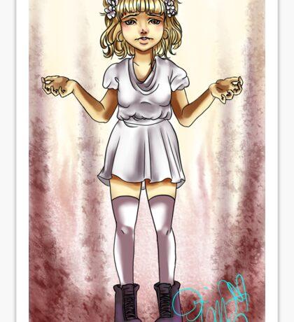 Maisie Null Sticker
