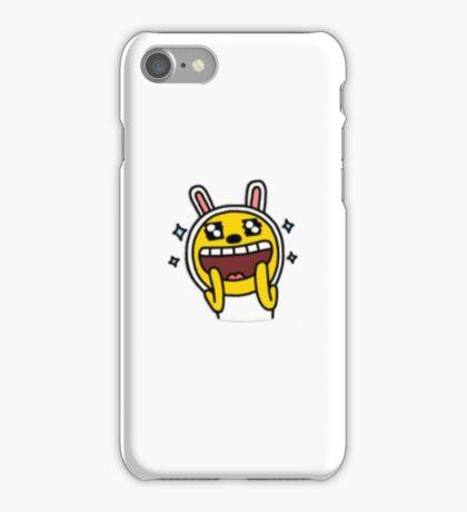 KakaoTalk Friends Muzi (Ecstatic) iPhone Case/Skin