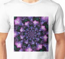 floral abstract background b Unisex T-Shirt