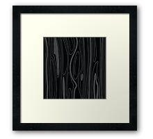 Black wood background texture. wood background design. Wooden texture element. Framed Print
