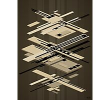 abstract vector - Superposition - Photographic Print