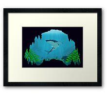 Great White Sharks Framed Print