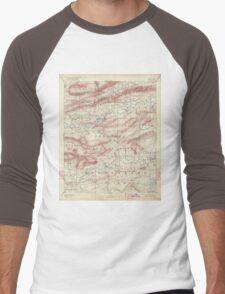 USGS TOPO Map Arkansas AR Mount Ida 260539 1890 125000 Men's Baseball ¾ T-Shirt
