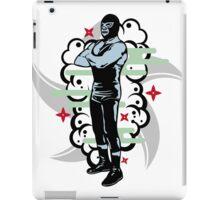 LUCHADOR#2 iPad Case/Skin