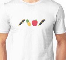 Pen Pineapple Apple Pen - Twitter Emoji Unisex T-Shirt