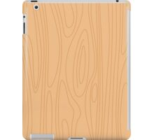 Natural beige wood background. Pine wood texture. iPad Case/Skin