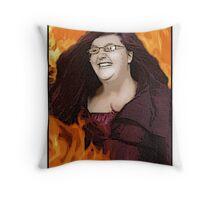 Lili 'Phoenix' Breschinsky Throw Pillow