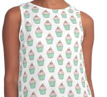 The Mole On The Cupcake Contrast Tank
