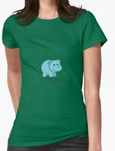 Your Opinion Is Irrelephant Womens Fitted T-Shirt