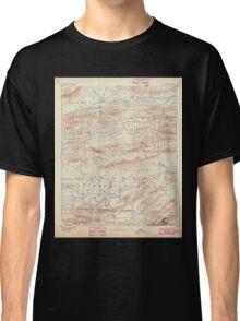 USGS TOPO Map Arkansas AR Hot Springs 260500 1894 125000 Classic T-Shirt