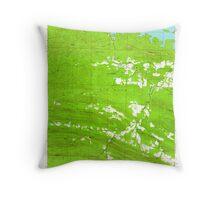USGS TOPO Map Arkansas AR Ferndale 258454 1963 24000 Throw Pillow
