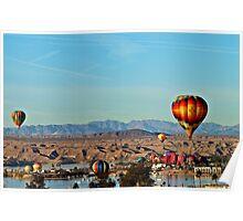 Lake Havasu Balloon Festival 2014 Poster