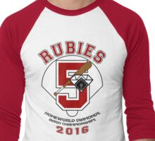 Rubies Baseball Jersey - Steven Universe Men's Baseball ¾ T-Shirt