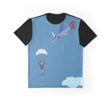 Pilot escaping a jet Graphic T-Shirt
