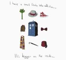 Dr Who Addiction Kids Tee