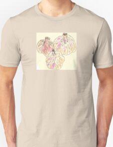 The Stinking Rose: Three Cloves of Garlic - Watercolor by Dan Vera Unisex T-Shirt