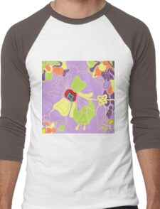 Tangled Garden Men's Baseball ¾ T-Shirt