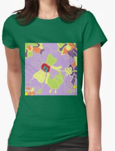 Tangled Garden Womens Fitted T-Shirt