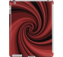 Decorative red twist  iPad Case/Skin