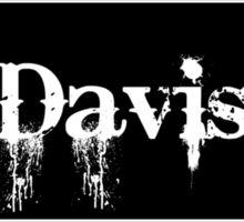 Davis - Sticker Sticker
