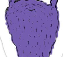 Bearded man #NoHobo Sticker