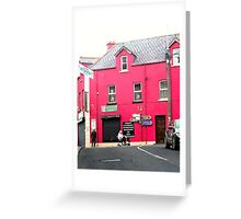 Cafe Donagh, Carndonagh, Donegal, Ireland Greeting Card