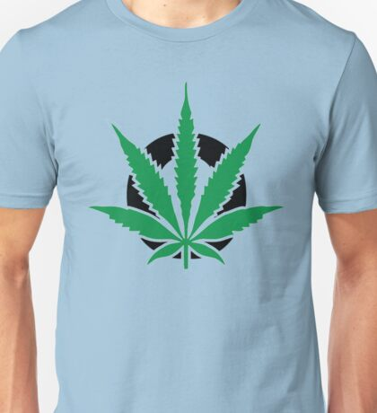 Cannabis leaf Unisex T-Shirt