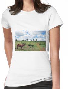 Young Bull, Jinja, Uganda Womens Fitted T-Shirt