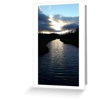 Newfoundland River Greeting Card