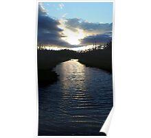 Newfoundland River Poster