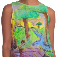 Where The Sun Kisses the Earth Contrast Tank