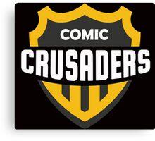 Comic Crusaders Gear 2 Canvas Print