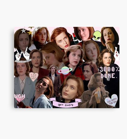 Queen Scully Canvas Print