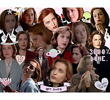 Queen Scully Photographic Print