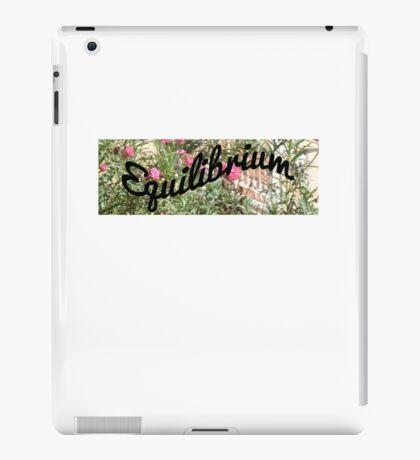 Equilibrium Print iPad Case/Skin