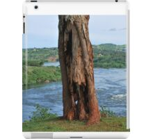 Tree Along White Nile River, Jinja, Uganda iPad Case/Skin
