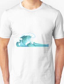 wavy  Unisex T-Shirt