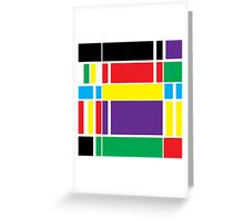"""geometric art 299"" Greeting Card"