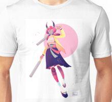 Pastel Samurai Unisex T-Shirt
