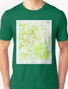 USGS TOPO Map Arkansas AR Garner 258550 1963 24000 Unisex T-Shirt